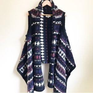 Loft Folklore Nordic Alpaca Sweater Vest L/XL
